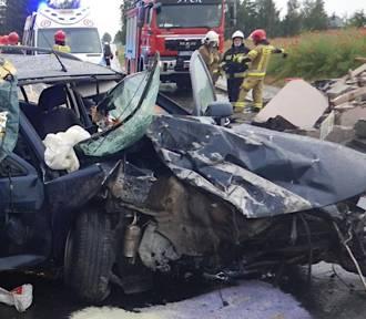 Wypadek w miejscowości Bierzwienna Długa gmina Kłodawa