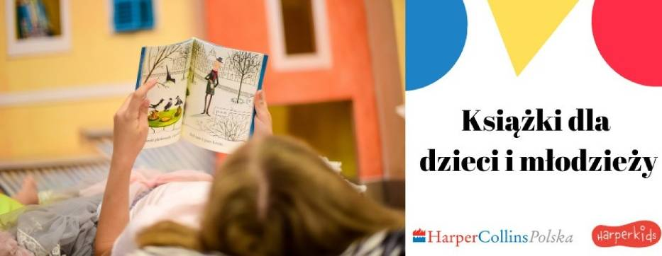 Wydawnictwo HarperCollins Polska rozda dzieciom i nauczycielom 70 tys