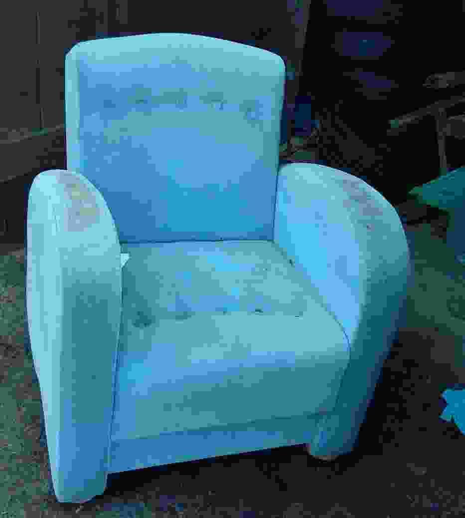 Ukradziono ci niebieski fotel? Mamy dobrą wiadomość