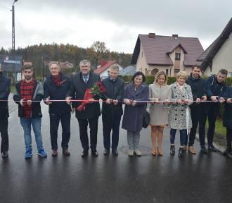 Ulica Pogodna w Grzybnie oficjalnie otwarta [ZDJĘCIA]