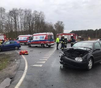 Dwa niebezpieczne wypadki w miniony weekend na krośnieńskich drogach