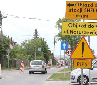 Ruszył remont ulicy Piekoszowskiej w Kielcach. Są utrudnienia nie tylko dla kierowców