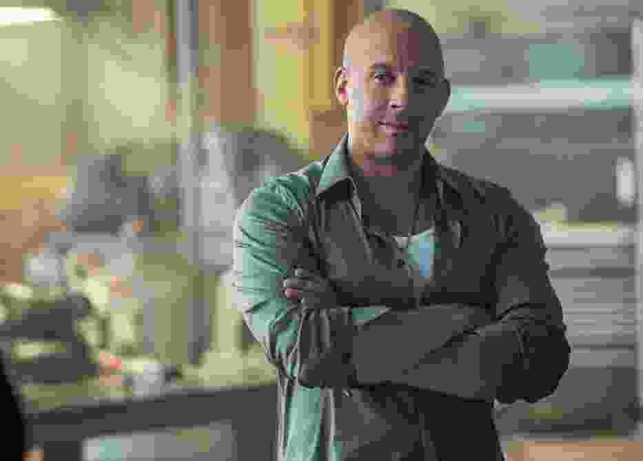 """Vin Diesel, kadr z filmu """"Szybcy i wściekli 7"""""""