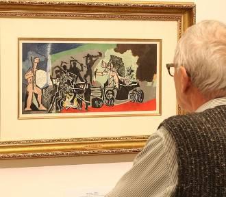 Grafiki Pabla Picassa na wystawie w galerii Suszarnia w Centrum Kultury Browar B. we Włocławku