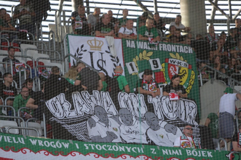 Górnik Zabrze - Śląsk Wrocław 0:0 (KIBICE ŚLĄSKA WROCŁAW - Zabrze, 15
