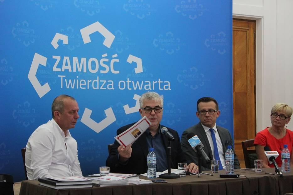 Festiwal Stolica Języka Polskiego w Szczebrzeszynie. DZIEŃ ZAMOJSKI- konferencja prasowa