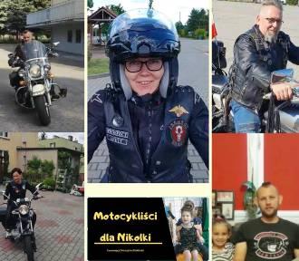 Akcja motocyklistów na rzecz chorej Nikoli z Brzeszcz