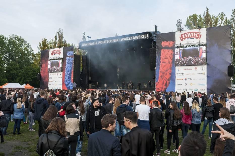 Juwenalia Politechniki Warszawskiej 2019. Zdjęcia z pierwszego dnia koncertów! [GALERIA]