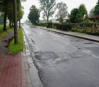 Remont kolejnego odcinka ul. Olszewskiego w Oświęcimiu