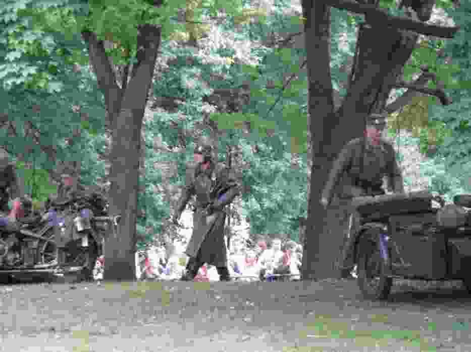 Żołnierze niemieccy, z którymi przyszło walczyć powstańcom