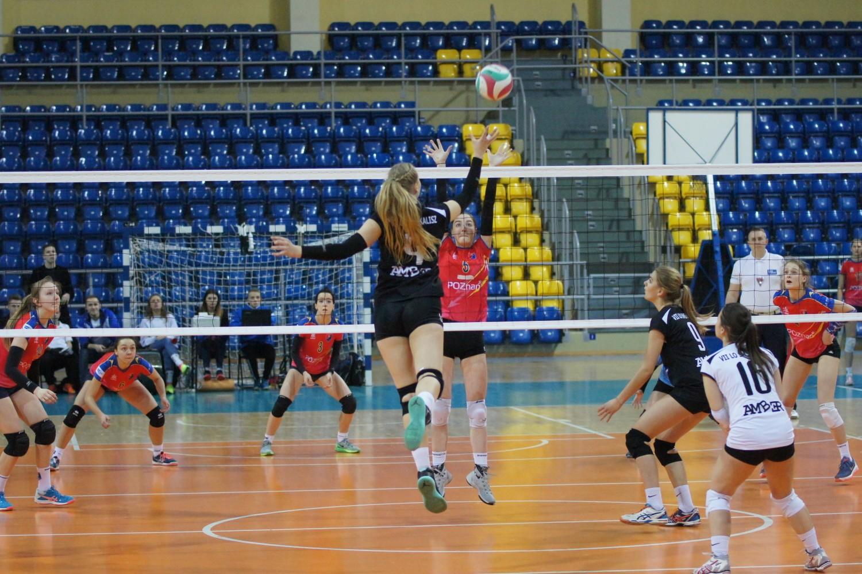 Siatkarki VII LO SMS Amber Kalisz mistrzyniami Wielkopolski juniorek