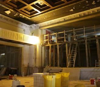 Remont Teatru Letniego w Legnicy. Zobacz wnętrza zabytkowego obiektu!