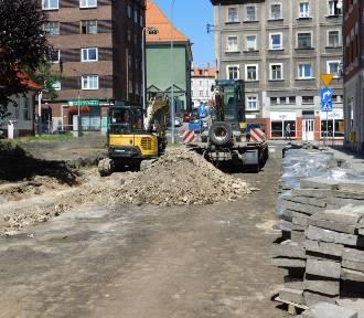 Wałbrzych: Ruszył remont Placu Konstytucji 3 Maja [ZDJĘCIA]