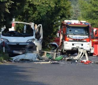 Wybuch furgonetki z gazem w Częstochowie. Są ofiary śmiertelne