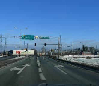 Jest koncepcja przebudowy skrzyżowania w Pniewach