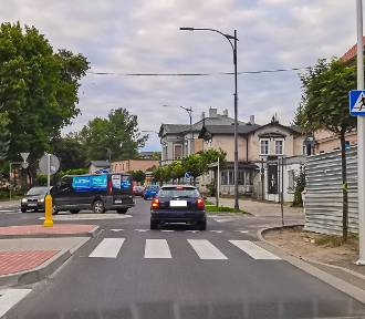 Szamotuły. Radny Heckert apeluje o likwidację ronda na ulicy Dworcowej