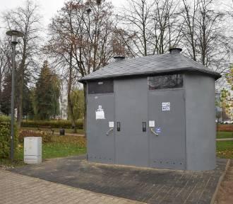 Toaleta w parku Ostrowskiego w Chodzieży jest już dostępna, ale nie każdy o niej wie