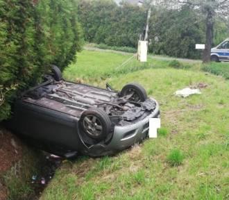 Dachowała toyotą w Jastrzębiu. Dramatyczny wypadek przy ulicy Powstańców Śląskich