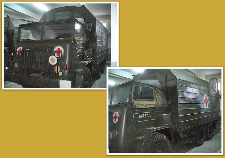 Sala operacyjna na samochodzie STAR 660 nadwozie typ 250