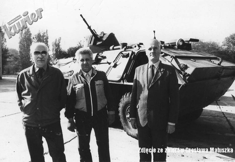 W Lublinie produkowano transportery opancerzone SKOT