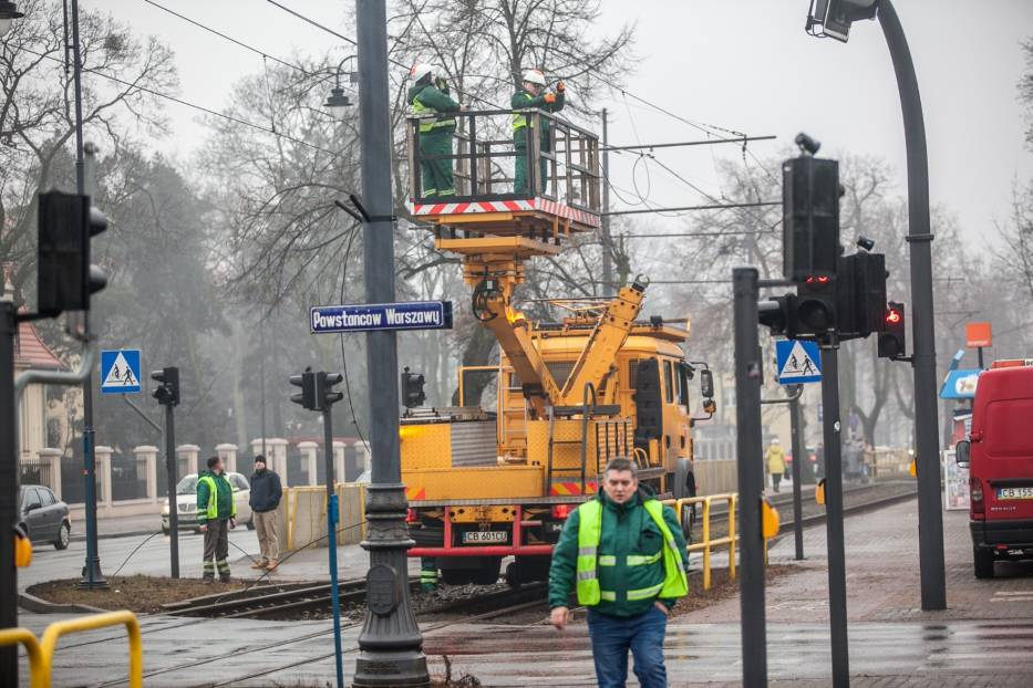 Jak informuje nas Marcin Knotowicz, dyspozytor ruchu w MZK, do awarii doszło około godziny 7 rano