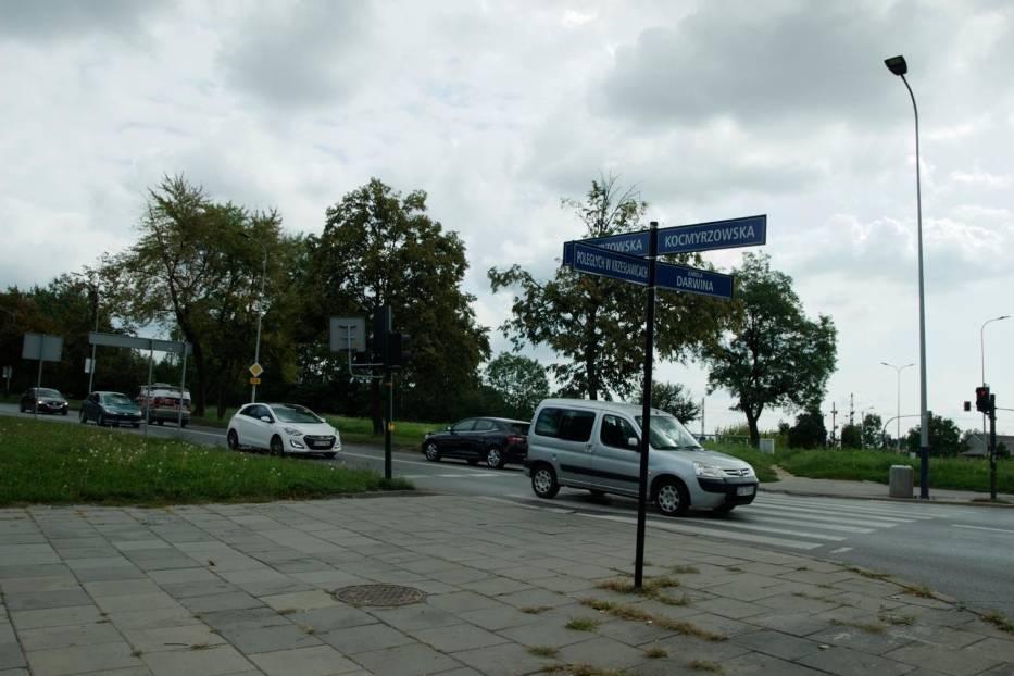 Ulica Kocmyrzowska w Krakowie