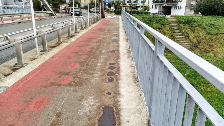 Chodnik na Moście Piastowskim ma być wyremontowany