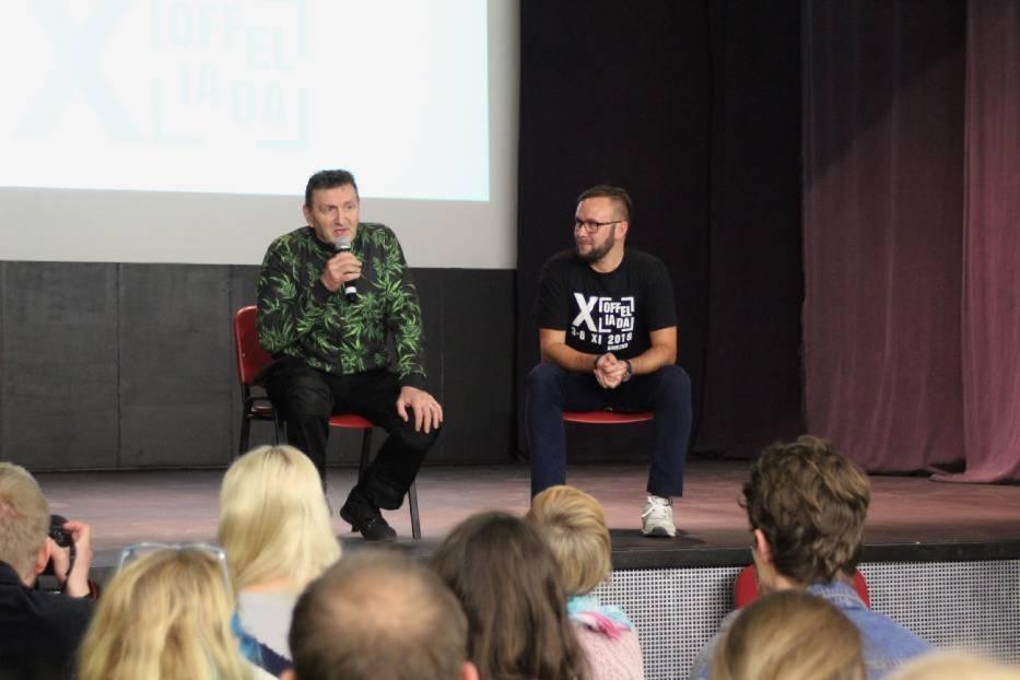 Offeliada w Gnieźnie: Spotkanie z aktorem Krzysztofem Majchrzakiem