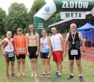 I Złoty Triathlon Złotów 2018 - pływanie i biegi