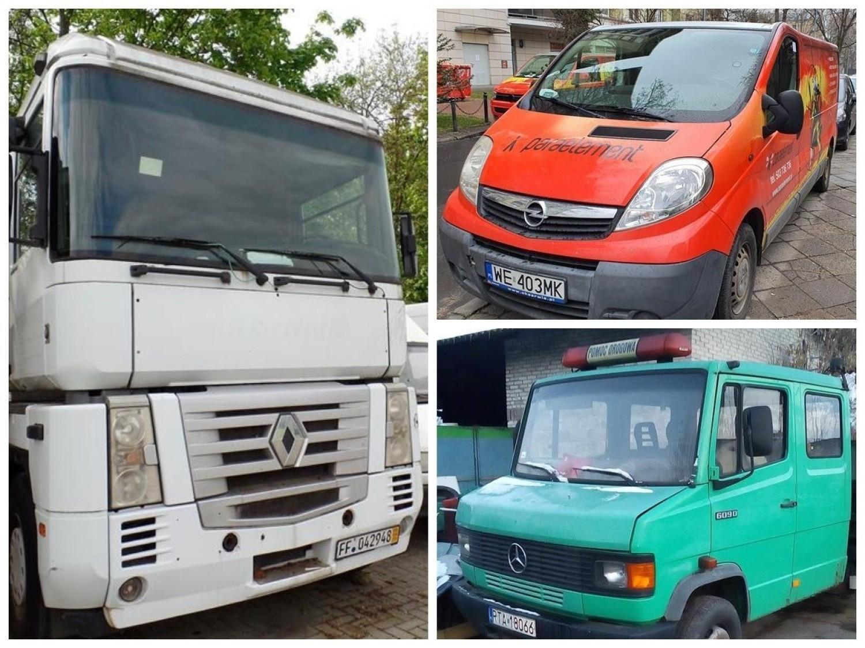 Samochody ciężarowe i dostawcze na licytacjach komorniczych