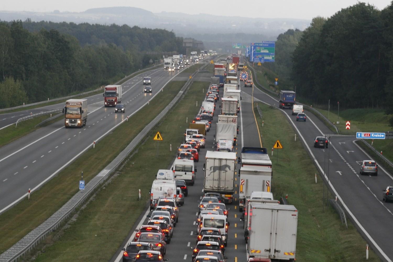 Na A4 między Mysłowicami a Krakowem jest miejsce na trzeci pas