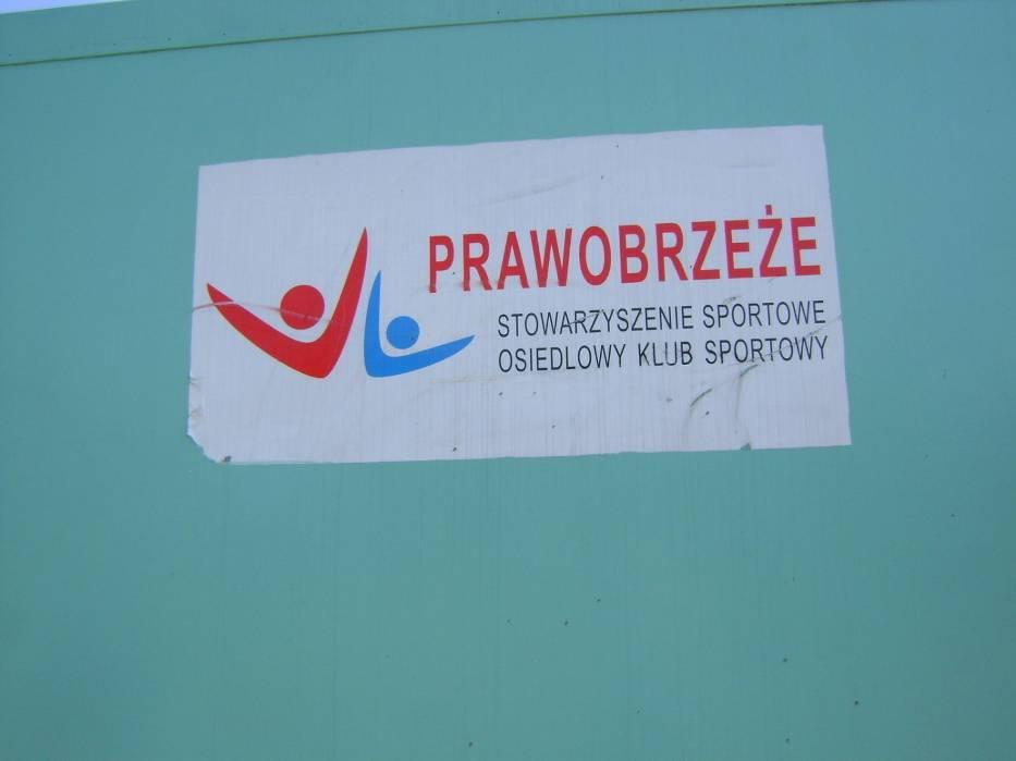 Logo Stowarzyszenia i Klubu PRAWOBRZEŻE (znaczy się Szczecina)Fot