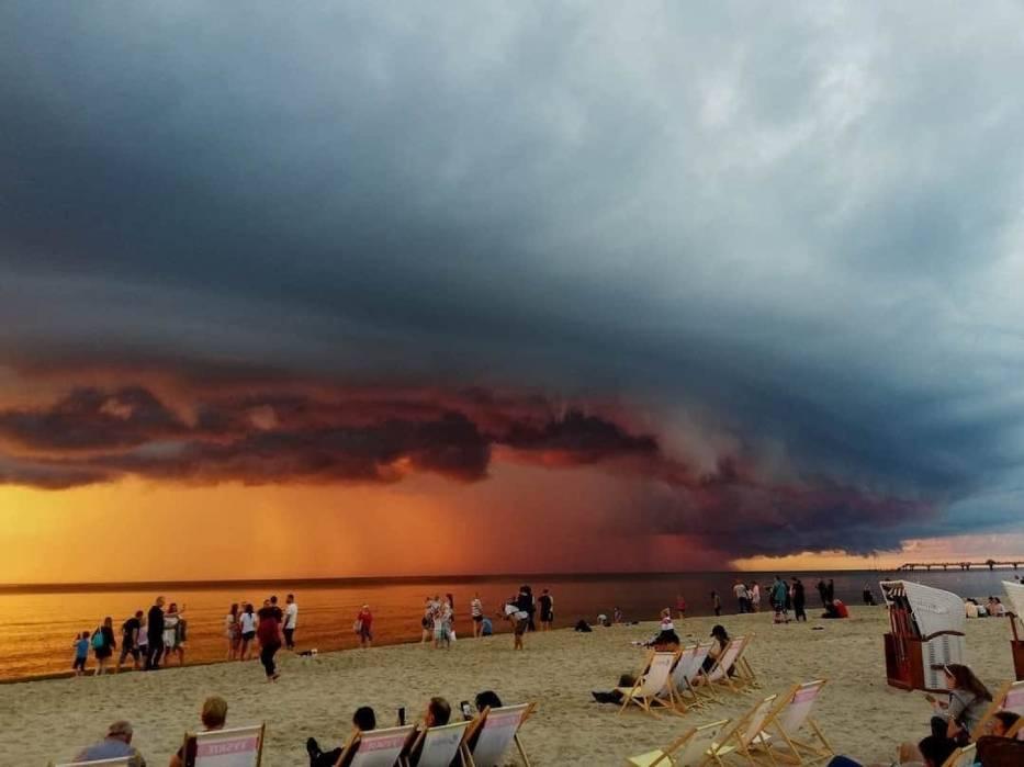 Niesamowite widoki nad polskim morzem