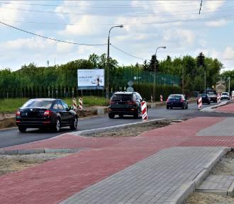 Są już pierwsze efekty przebudowy krajówki w Łęczycy [ZDJĘCIA]