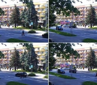 Policja ustaliła kierującą, która prawie potrąciła ojca z synem na pasach w Krośnie