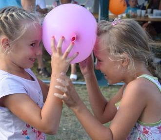 Festyn wakacyjny dla dzieci w Rzeczycy (gm. Świebodzin) [ZDJĘCIA]