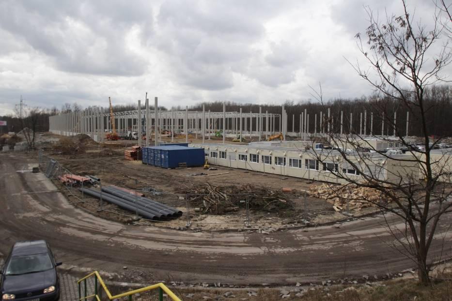 Budowa centrum logistycznego w Sosnowcu Milowicach