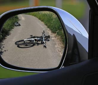 Wypadek w Krzyżanowicach. 14-letni rowerzysta w szpitalu