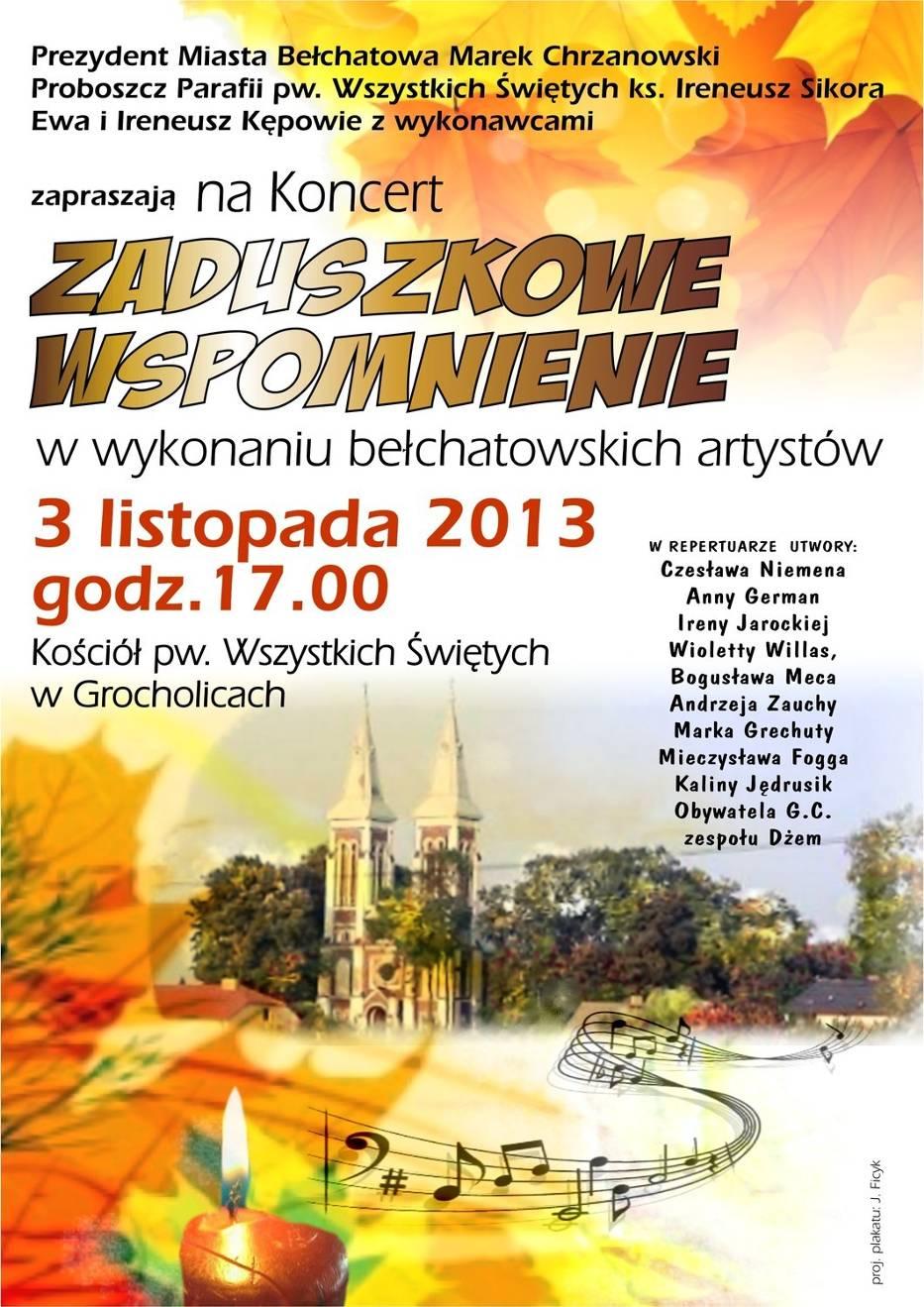 Zaduszkowe koncerty w Bełchatowie