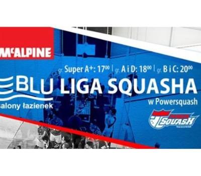 Blu Liga Squasha Kolejka Blu2 Powersquash Białystok