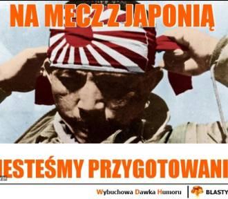 Przed nami mecz Polska - Japonia. Zobacz MEMY