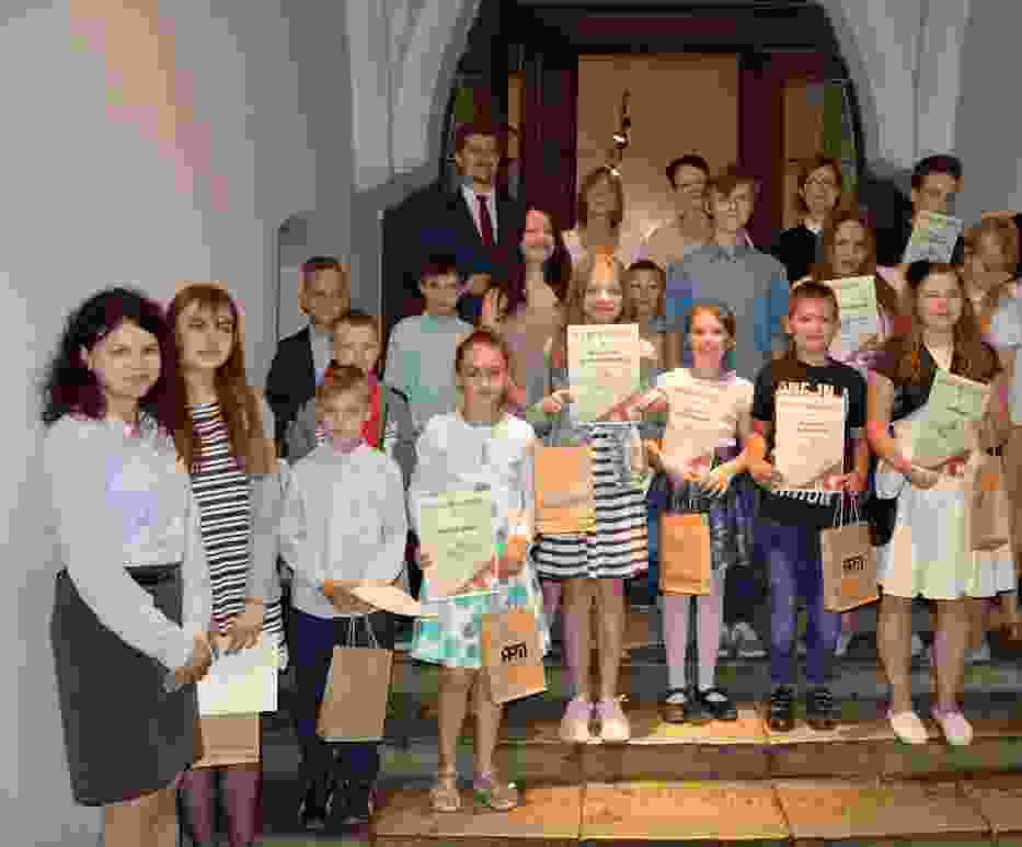 rozdanie nagród w Archiwum Państwowym w Malborku