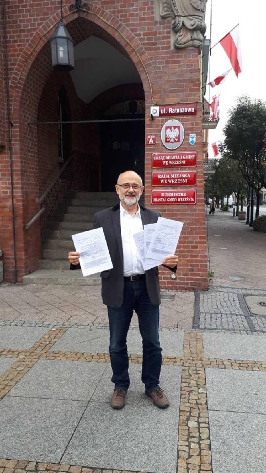 Unia Wrześnian odkrywa karty. Zobacz kto znalazł się na ich listach