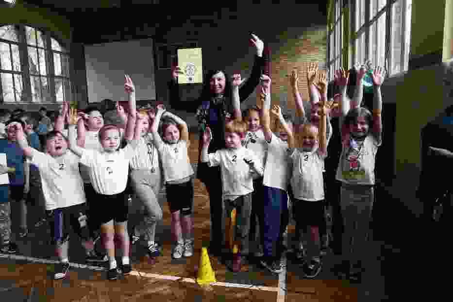 Turniej Sportowy w Szkole Podstawowej nr 4