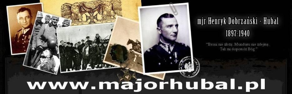 Strona poświęcona majorowi Henrykowi Dobrzańskiemu Hubalowi