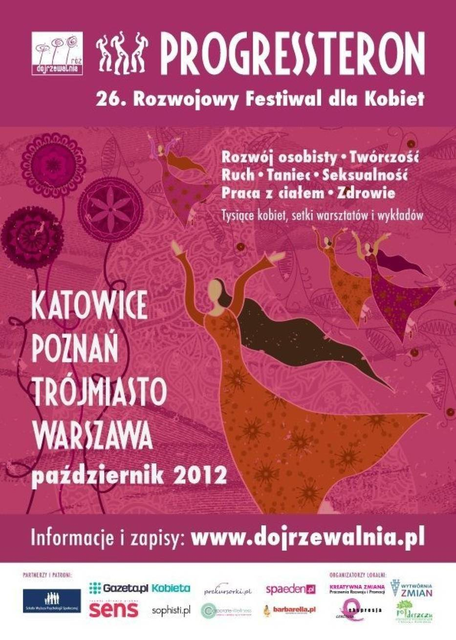 Festiwal PROGRESSteron to dwa jesienne weekendy: 19-21 oraz 26-28 października 2012