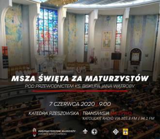 Msza święta za maturzystów w Rzeszowie