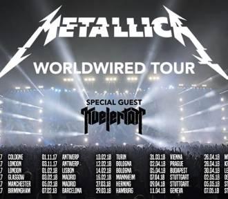 Metallica zagra w Polsce