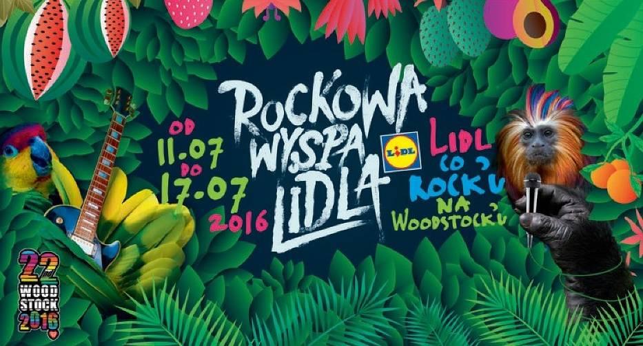 Rockowa Wyspa Lidla - weź udział w konkursie i wygraj pełen kosz produktów [KONKURS]
