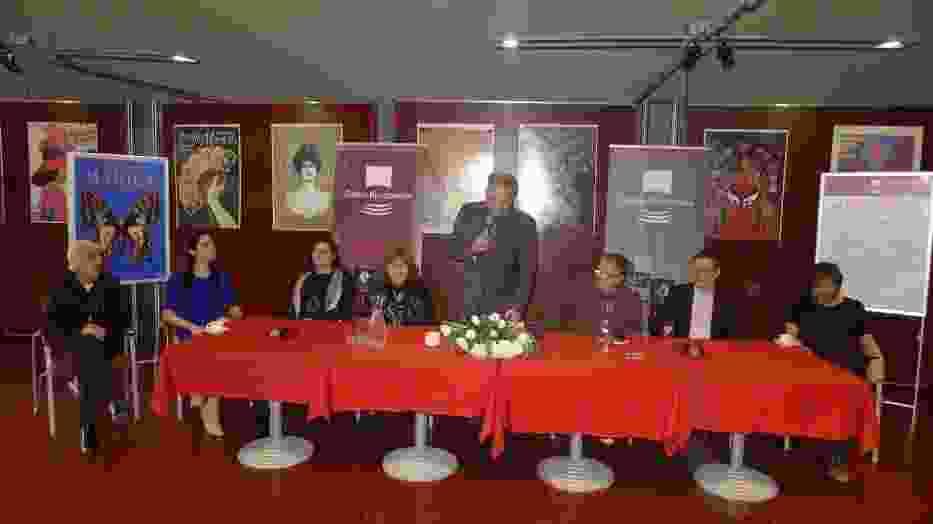 """konferencja prasowa poświęcona premierze operetki """"Hrabina Marica"""" Emmericha Kálmána"""